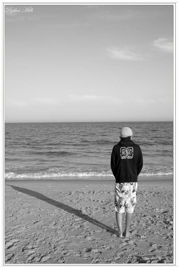 ivan on the beach