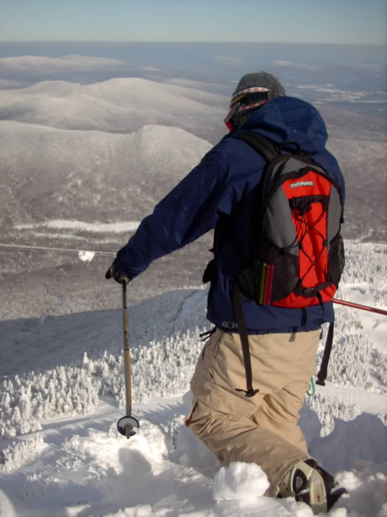 picking the line on jays chutes