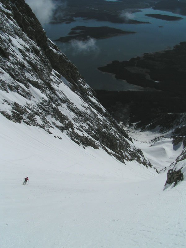 More Mt. Moran skiing