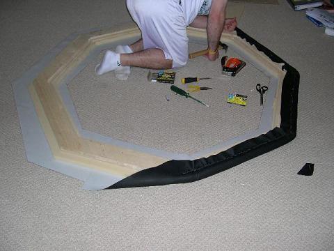 poker table build