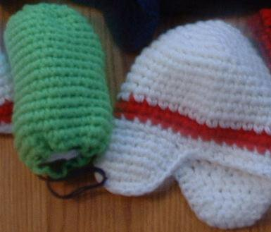 and even more crocheted stuff