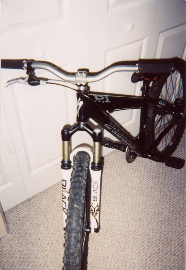 Heres my bike, but now it has a psylo on it