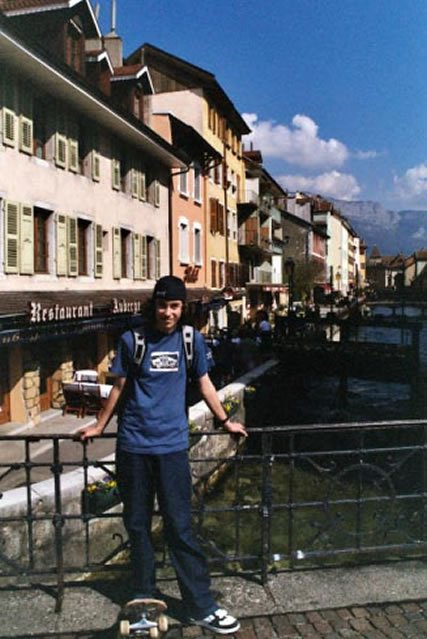 me in annecy. forever annecy.