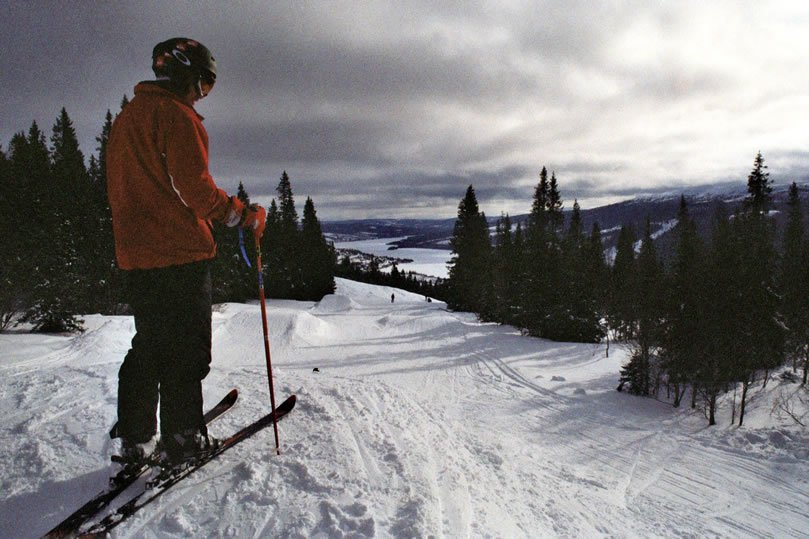 In Åre, noob years