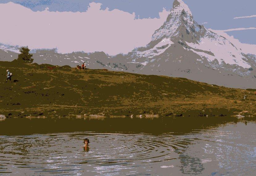 Zermatt swimming