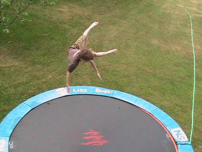 Pimped out trampoline