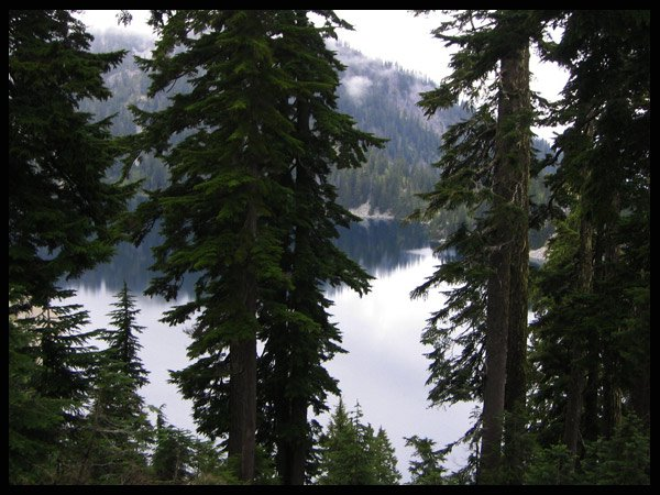 Alpine Lake in the Cascades