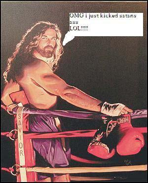 jesus kicks ass