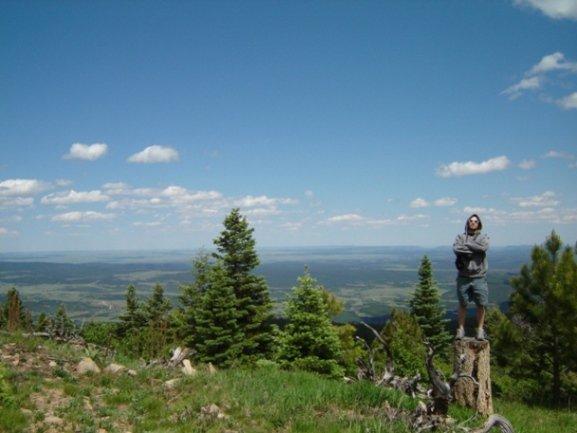 Chillin on Barilla peak