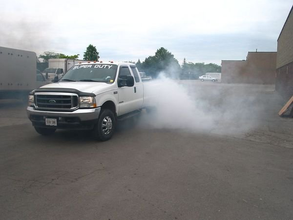 Hell of a burnout!