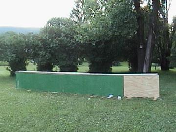 20 foot PVC rail