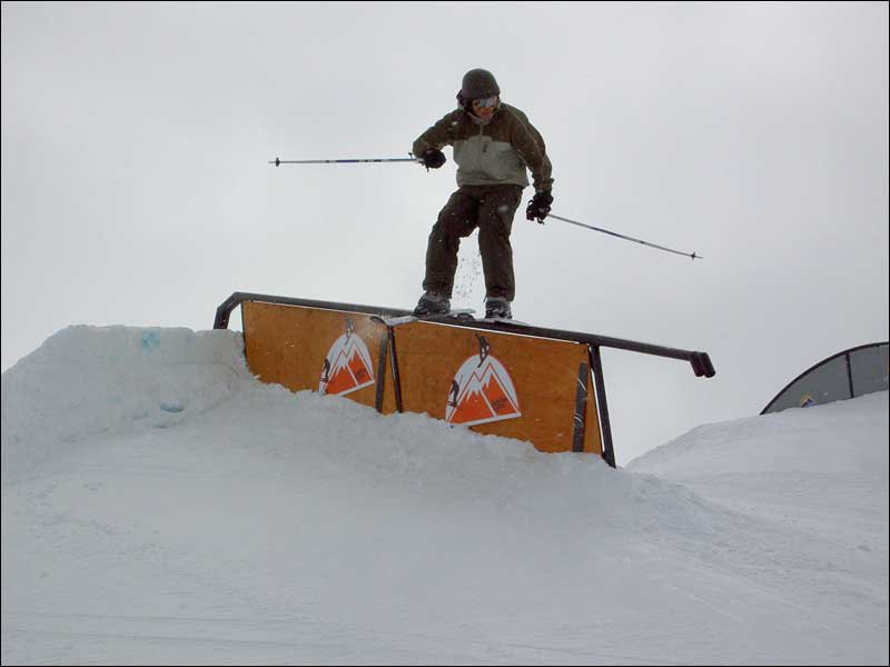 Out West- Did this rail with rentals!