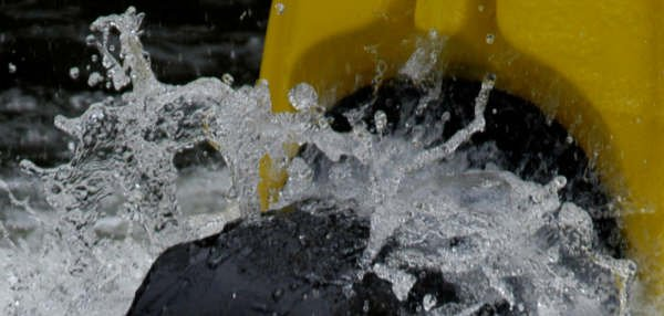 water beading