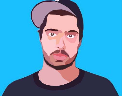 Vector of Aesop Rock