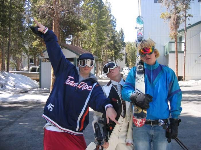 gaper day at breck