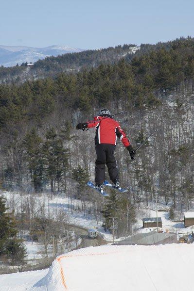huge air ( 5th year skiing)