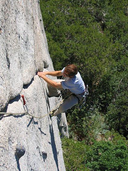 It's climbing season now