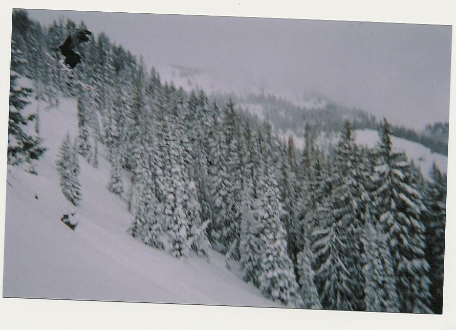 Back when there was powder