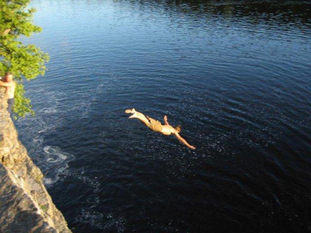 I like diving