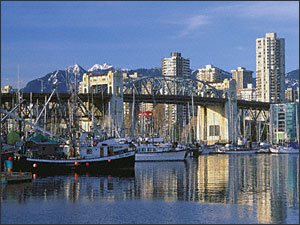 An awesome pic of Vancouver