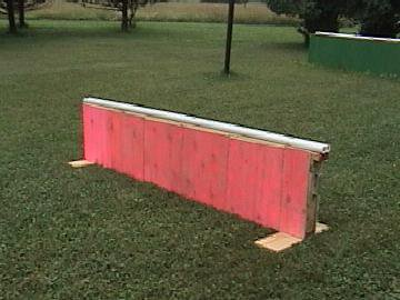 8 foot mini PVC rail