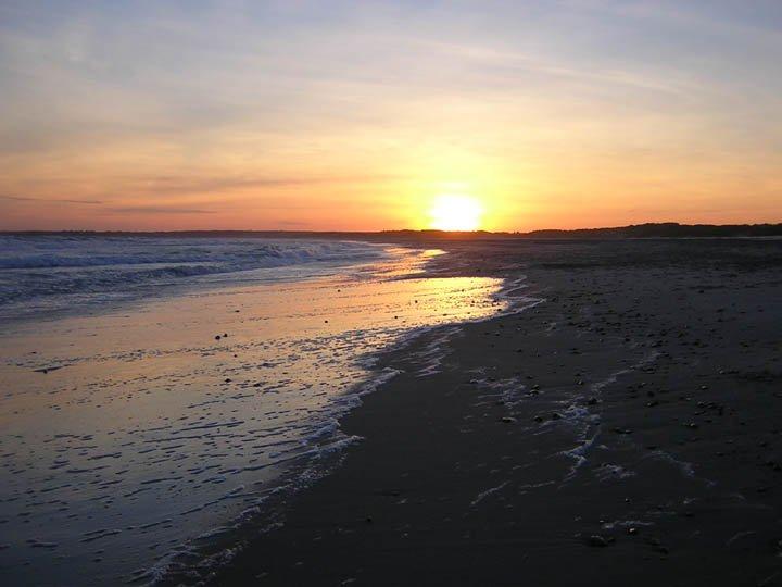 Nice Beach Sunset