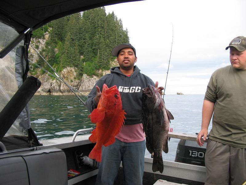 Alaskan fishin' Ghetto Child