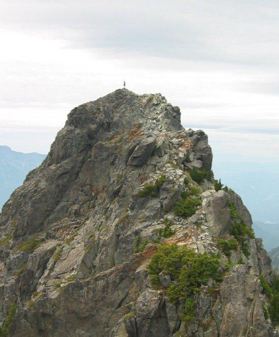 Bro on Gunn Peak from East Peak