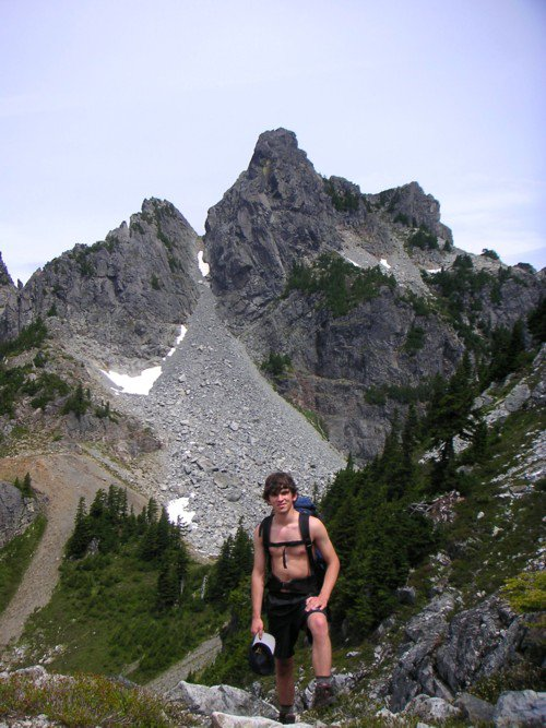 My Brother And Gunn Peak, Our Summit