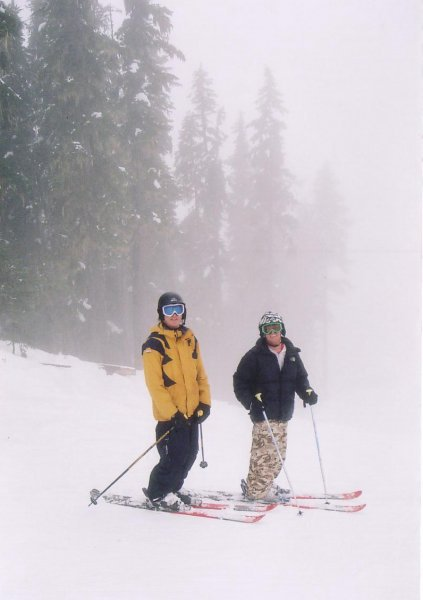 foggy day in whistler...