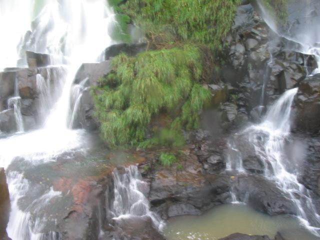 At the falls, but not falls