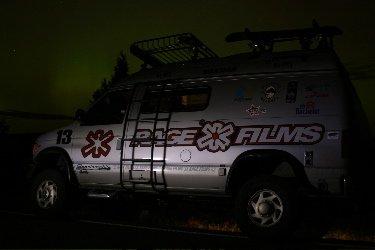 the rage van and northern lights