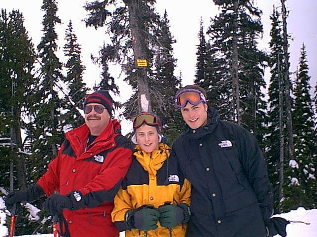 the skiing side of the family (back in 2000)