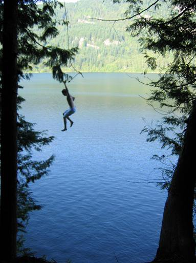 huge rope swing