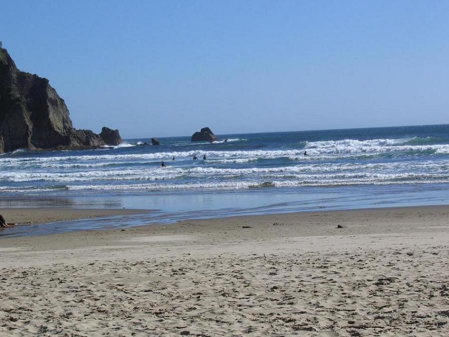 beach where I learned to surf