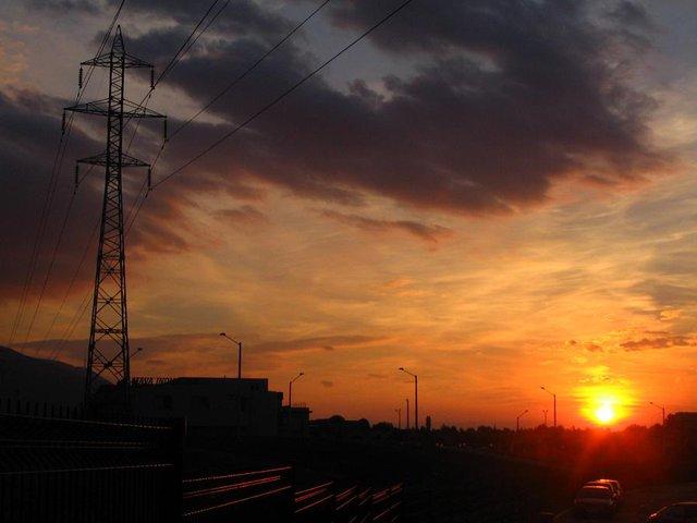 juicy sunset