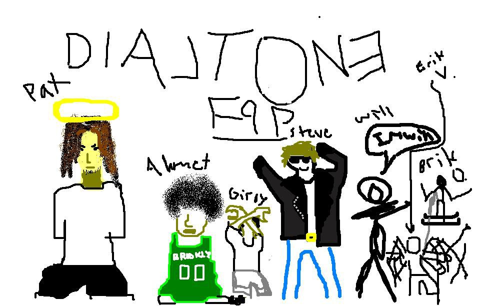 paint or the people of dialtone.....  not to good... beter if ya know em