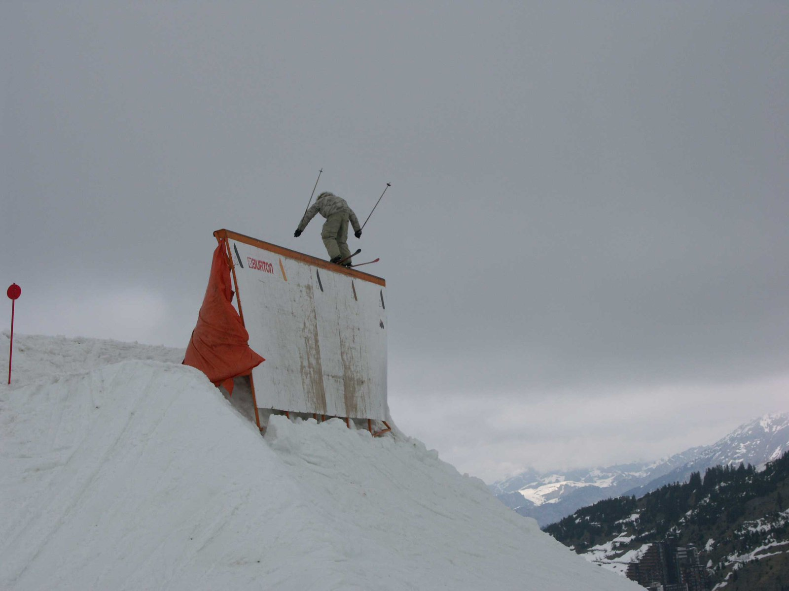 huge rail (normally a wall ride) (Telemark)