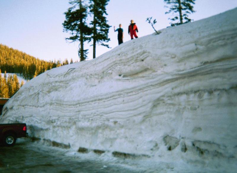 End of January '05 - thats a lot of snow!