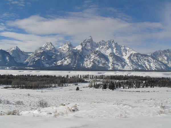 January 05 in Teton NP