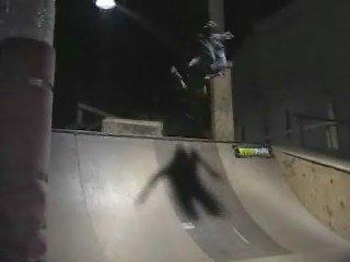 Backflip on Q pipe
