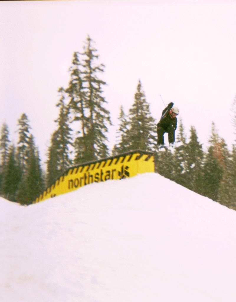 I think Northstar was his favorite park of 6 at Tahoe