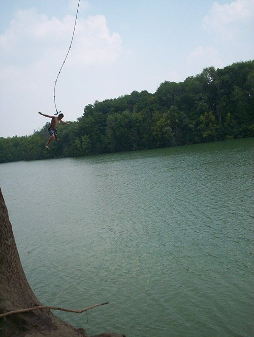 martin off the rope jump