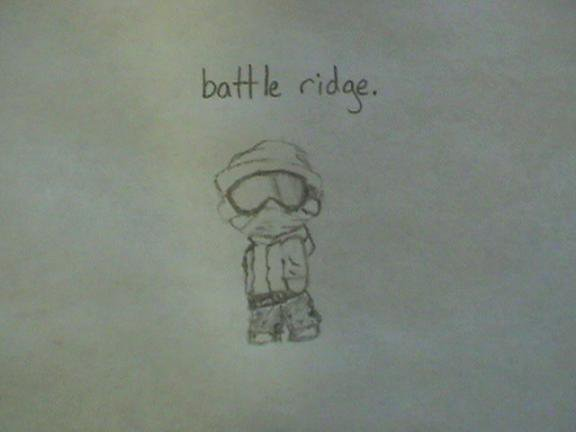 battle ridge logo thing
