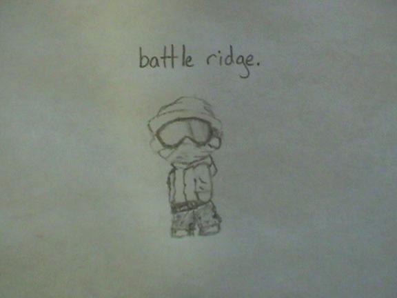 battle ridge logo thing