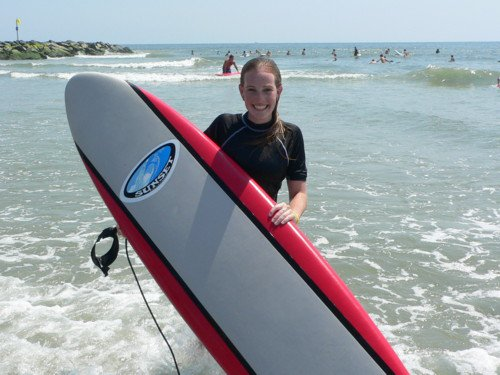 surfing makes me happy!
