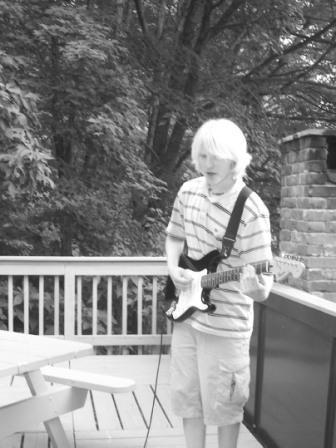 Me with my guitar. Wahoo