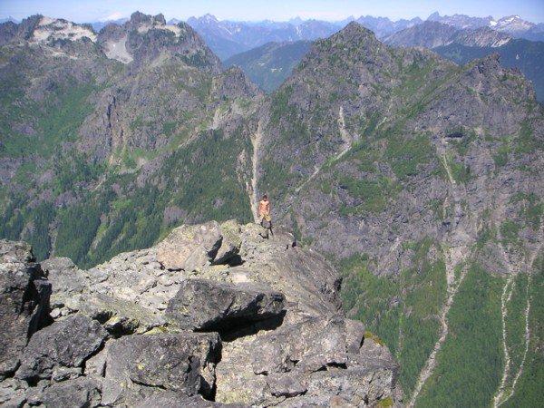 Mt Baring Summit