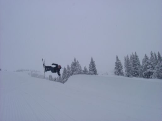 overcast day in the pipe
