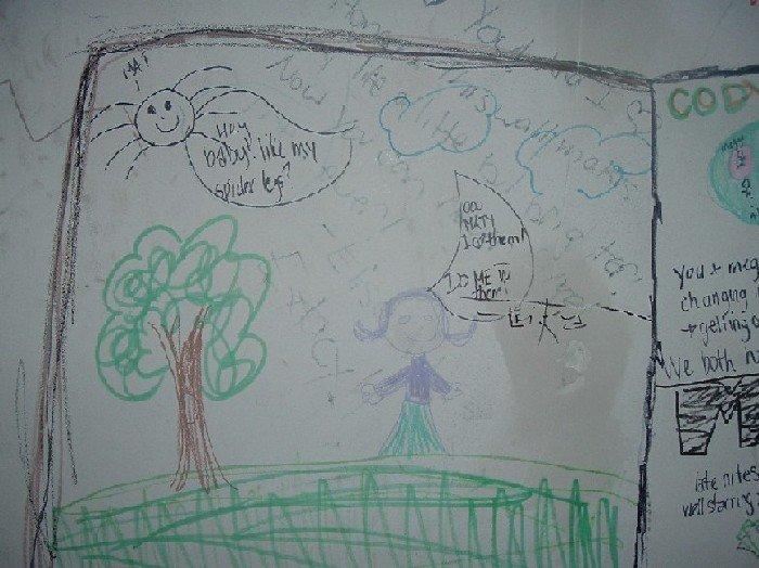 Alishas art work...? HAHA